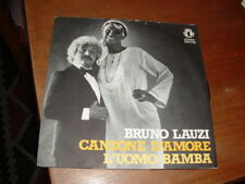 """BRUNO LAUZI """"CANZONE D'AMORE - L'UOMO BAMBA """" ITALY'79"""