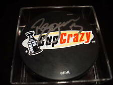 Bill Guerin Signed Cup Crazy Hockey Puck Autographed a