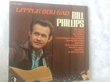 BILL PHILLIPS - LITTLE BOY SAD - VINTAGE DECCA RECORDS STEREO LP - SIGNED COPY!