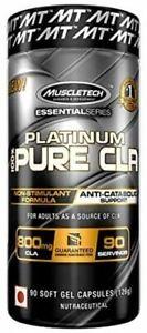 MuscleTech Platinum Pure CLA Ultra Pure CLA 800mg CLA per Serving 90 Count PROD3