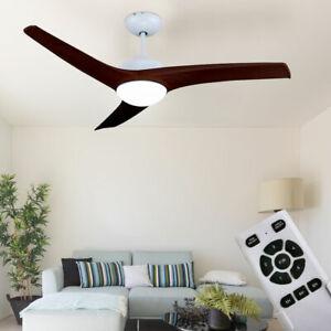 LED Plafond Ventilateur Plus Silencieux avec Télécommande Cuisine Lampe Chambre