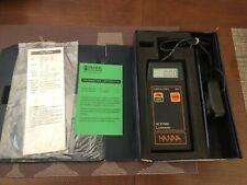 HANNA HI 97500 portable LUXMETER 0.001 to 199.9