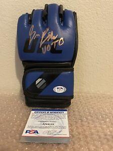 Bruce Buffer Signed UFC Glove PSA/DNA Coa VOTO Autograph