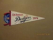 MLB Los Angeles Dodgers Vintage 1978 Mitchell & Ness Logo Baseball Pennant