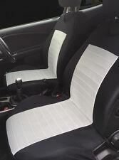 2 protectores de cubiertas de asiento delantero gris con barras para Citroen DS3