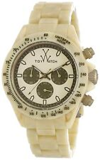 Orologio Toy Watch chrono Beige - unisex - FLE08HR - NEW