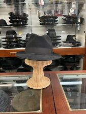 Panizza Cirtaldo Men's Fedora Hat Made In Italy Size 59 7 3/8