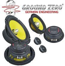 Ground Zero  3-Wege LAUTSPRECHER 16,5cm  GZTC165.3Act ohne Frequenzweichen