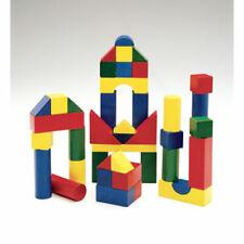 Wooden Color Blocks - 200 Pc
