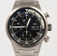 IWC Aquatimer IW3719-28 Stainless Steel Bracelet Black 42mm iw3719 371928