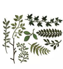 Sizzix Thinlit Die - Garden Greens : 661206  2