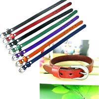 Korean Style Genuine Leather Wristband Buckle Belt Bracelet Cuff Men Unisex Gift