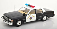 1:18 Model Car Group Chevrolet Caprice Highway Patrol California 1987