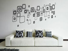 ik1615 Wall Decal Sticker Modern Ornament Squares
