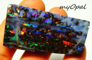 +++ TOP GEM Boulder Opal -Regenbogenfahrstuhl Traum Investment Opal by myOpal !