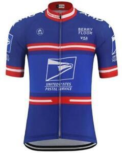 Brand New Retro Team USPS Cycling Jersey