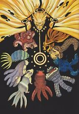 Poster A2 Naruto Shippuden Uzumaki Bijus Manga Anime Cartel 02
