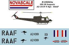 RAAF UH-1B Huey Mini-Set Decals 1/35 Scale N35063a