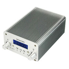 5W/15W PLL FM Transmitter Wireless Radio Stereo Station 87~108MHz Broadcast New+
