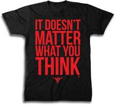WWE The Rock It Doesn't Matter Small S Men's Short Sleeve T-Shirt
