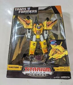Transformers Titanium Die Cast Metal Sunstorm MISB Generations Brand New!!