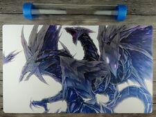 Trishula, Dragon of the Ice Barrier YuGiOh Custom Playmat Free High Quality Tube