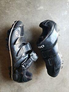 Giro Manta Womens Cycling Mountain Bike Shoes Size EU 40.5 / US Women 8.5  Black