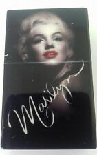 Marilyn Monroe Sliding Pocket Ashtray - Iconic Black Pout Signature Design