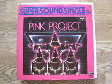 """PINK PROJECT - DISCO PROJECT MAXI 12"""""""