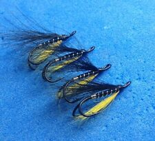 4 Quality Size 12 Double Posh Tosh Salmon Sea Trout Salmon Flies