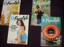 WOW NEW FREESTYLE WEIGHT WATCHERS WEEKLY SET OF 4 WEEKS FROM JUNE/JULY 2018