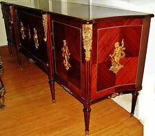 Beautiful French Empire Style Sideboard Server Buffet Cabinet, 99