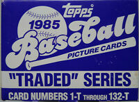 1985 Topps Traded Team Set Baseball Cards You U Pick From List