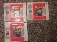 1976/77 O-PEE-CHEE WHA HOCKEY CARD EMPTY WAX PACK WRAPPER SHARP!! OPC