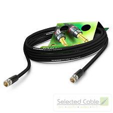10m 6G SDI BNC Kabel Sommer Cable SC-Vector Plus Videokabel 4K UHD HD-SDI   DZGR