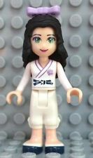 Lego Friends Emma Minifigure w/ Karate Uniform - from 41002 Emma's Karate Class