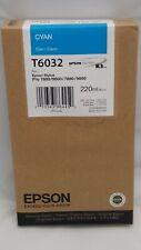 EPSON T6032 CYAN INK STYLUS PRO 7800/9800 7880/9880 OEM NIB