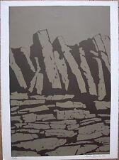 Michel MOSKOVTCHENKO Lithographie signée numérotée Roussillon Jean Giono 1972 *