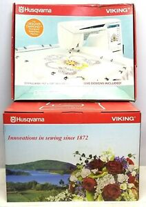 Husqvarna Viking DESIGNER DIAMOND DELUX Sewing And Embroidery Machine - 18121265