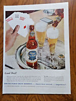 1953 Pabst Blue Ribbon Beer Ad What'll you Have? Playing Cards 1953 Coca-Cola Ad