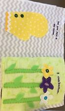 My Quiet Book, 14 Pages, Handmade, Customize With Your Childs Name, Great Gift