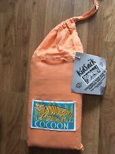 "Cocoon Kids Travel Camping Sleep Sack Sleeping Bag Liner 66"" 100% cotton New"