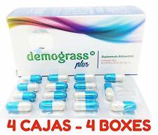 4 PACK Demograss PLUS 120 Day GUARANTEED Original Demograss 6 MESES 120 CAPSULES