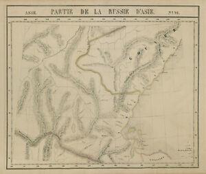 Russie d'Asie #26 Russian Far East. Khabarovsky Sakha Amur VANDERMAELEN 1827 map
