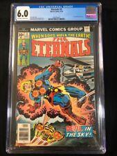 Marvel's The Eternals #3 CGC Graded 6.0; 1st App of Sersi; Brand new slab!