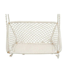 Traditional Style Curio Centre White Double Seater Hanging Chair For Living Area