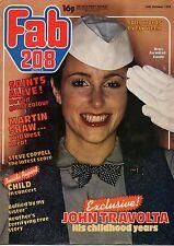 Fab 208 Magazine 14 October 1978     In Ogilvy     Martin Shaw     Child