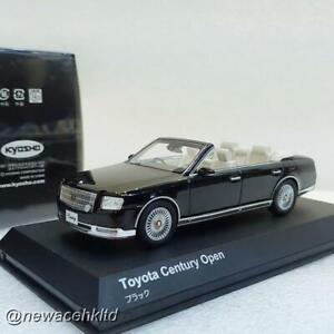 Toyota Century Open Black KYOSHO MODELS 1/43 #03905BK