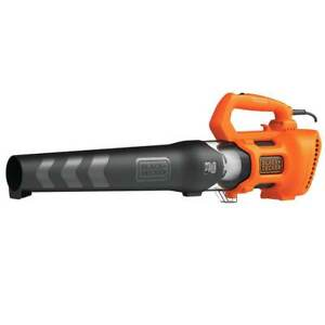 Black and Decker BEBL750 9-Amp 140-MPH Corded Electric Axial Leaf Blower