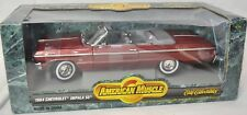 ERTL 1/18 1964 Chevy Impala SS 409 Convertible RED #7837 SEALED American Muscle